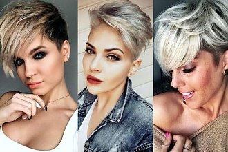 Odmładzające fryzury krótkie 2019/2020 - z grzywką, pixie, undercut i inne