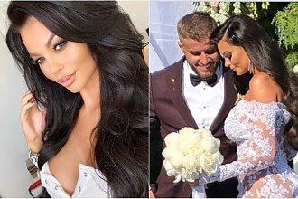 Polska modelka wyszła za mąż! Spod koronkowej sukni prześwitywały jędrne pośladki