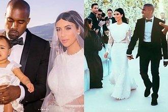 Kim Kardashian zamieściła zdjęcia sprzed pięciu lat: tak wyglądała w dniu ślubu! Zobaczcie, czy się zmieniła!