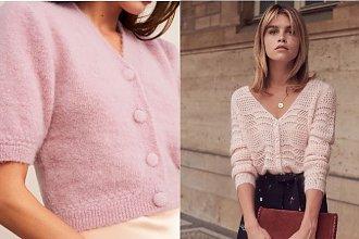 Pastelowy kardigan - modny sweter na wiosnę i lato 2019