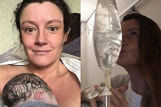 W ciąży wymiotowała nawet 47 razy dziennie, ale po urodzeniu dziecka nudności nie ustąpiły. Jej mleko ZATRUWAŁO dziecko!
