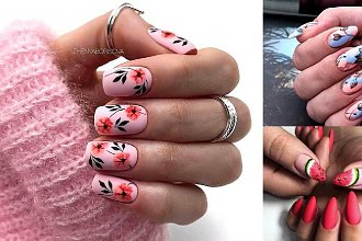 Manicure na lato 2019 - top 25 najciekawszych propozycji