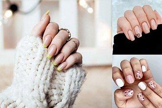 Nude manicure - 30 najlepszych pomysłów z sieci