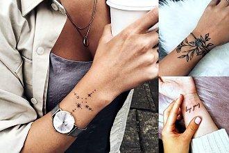 Tatuaże na nadgarstek - 30 najciekawszych i ultrakobiecych wzorów