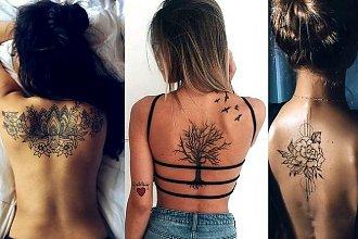 Magiczne tatuaże na plecy - galeria pięknych i zmysłowych wzorów