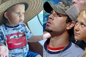 Enrique Iglesias chwali się synkiem! Mały Nicolas śpiewa i tańczy. Będzie z niego piosenkarz?