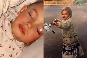 Znana modelka pokazała zdjęcia z dzieciństwa! Zgadnijcie, kto to taki!