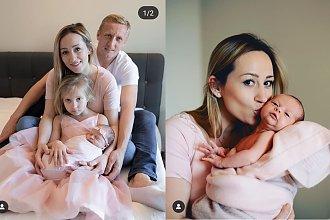 """Córeczka Kamila Glika wyglądała jak aniołek! Zobaczcie zdjęcia z chrzcin. Fani: """"Przepiękna rodzinka"""""""