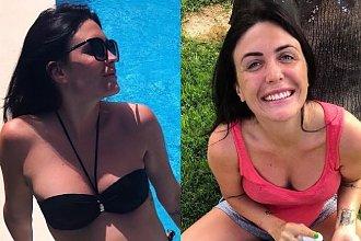 """Magda Pyznar z """"Warsaw Shore"""" opala się w bikini z ciążowym brzuszkiem. Instamatki plują jadem!"""