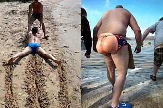 Wakacyjne zdjęcia z plaży - te sesje to sztos! Najzabawniejsze fotki, które podbijają internet