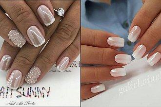 White manicure - 20 pomysłów na eleganckie, białe paznokcie