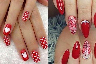 Czerwone paznokcie - 25 pomysłów na czerwony manicure. Najnowsze trendy!