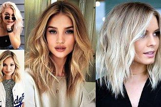 18 modnych cięć dla blondynek o półdługich włosach! [GALERIA]