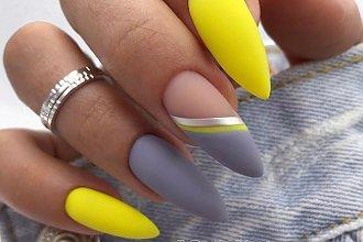 Letni hit w manicure 2019: paznokcie nude i neonowe wzorki. Trend podbija Instagram!