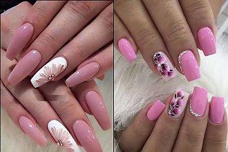 Paznokcie w kwiaty - 20 kwiecistych wzorów paznokci