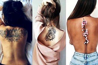 Tatuaże w okolicy pleców - 18 urzekających i dziewczęcych wzorów