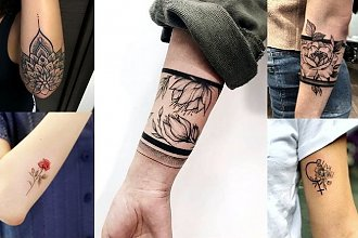 Tatuaż na rękę - galeria fantastycznych wzorów