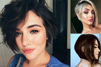 Fryzury za ucho - galeria mega modnych i kobiecych cięć