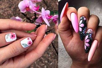 25 pomysłów na śliczny kwiatowy manicure! [GALERIA]