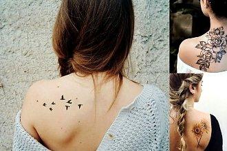 Tatuaże na łopatce - galeria pięknych i unikatowych wzorów