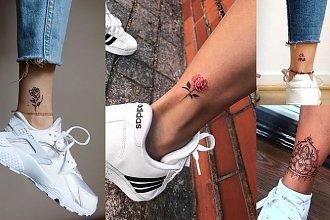 Tatuaż w okolicy kostki - galeria dziewczęcych wzorów