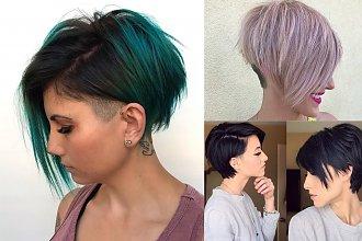 Krótkie fryzury damskie: modne cięcia z grzywką. Trendy na jesień 2019