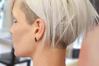 Modne krótkie fryzury damskie: krótki bok i długa grzywka - to cięcie podbija Instagram!