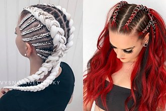 Mode fryzury z warkoczykami boxer braids. Uczesania, które trzeba wypróbować tego lata!