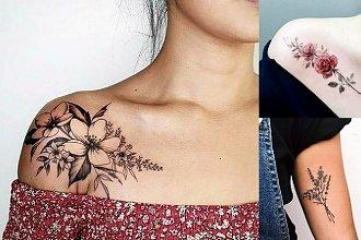Tatuaże kwiaty - 30 urzekających tatuaży dla kobiet