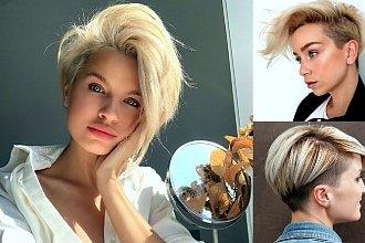 20 krótkich cięć dla blondynek – galeria stylowych fryzur