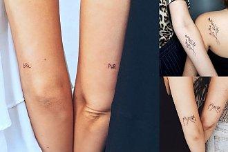 Tatuaże dla przyjaciółek - 20 najpiękniejszych propozycji z sieci