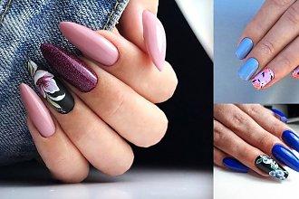 25 pomysłów na piękny kwiatowy manicure! [GALERIA]