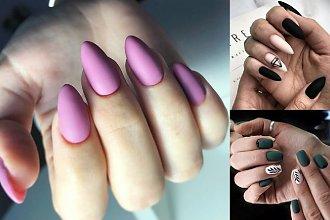 Matowy manicure - przegląd najciekawszych stylizacji