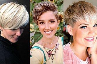 Fryzury pixie - 20 modnych i kobiecych cięć