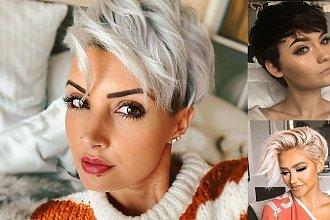 Krótkie cięcie 2019/2020 - przegląd modnych fryzur pixie i undercut