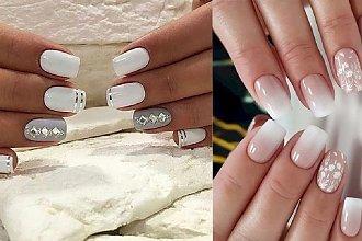 Ślubny manicure - białe paznokcie w 25 najpiękniejszych wydaniach!
