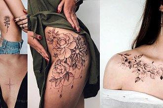 Kobiece tatuaże - galeria przepięknych wzorów
