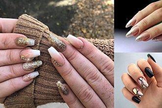 18 pomysłów na manicure ze złotymi zdobieniami [GALERIA]