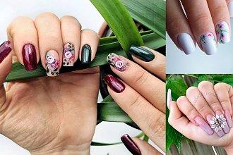 Kwiatowy manicure - galeria ślicznych pomysłów, które robią ogromne wrażenie