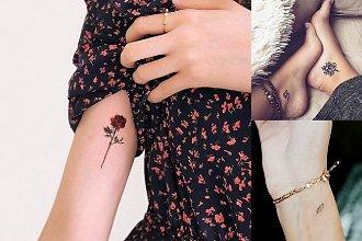 Małe tatuaże - 30 kobiecych i subtelnych wzorów