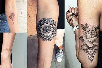 Tatuaże 2019/2020 - mandala, motyw kwiatów, napisy i wiele innych