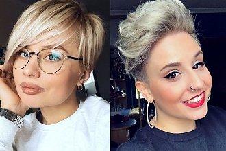 Krótkie fryzury - 20 zjawiskowych cięć dla kobiet o jasnych włosach