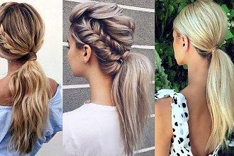 21 pomysłów na stylową fryzurę z kucykiem w roli głównej! [galeria]