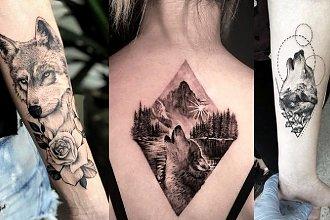 Tatuaż z motywem wilka - 18 zmysłowych i kobiecych wzorów