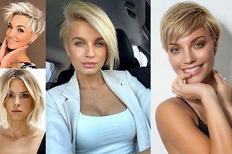 Krótkie fryzury dla blondynek - galeria nowoczesnych cięć