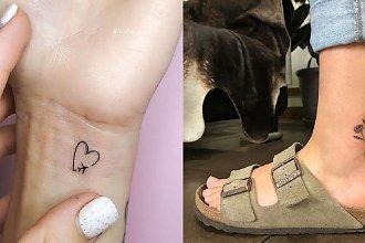 Małe tatuaże - galeria niezwykłych wzorów nie tylko dla kobiet!