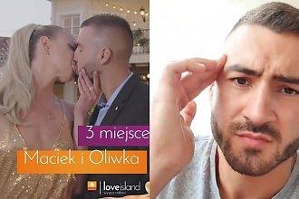 """Love Island: Oliwia i Maciek już się rozstali? """"Oliwia odleciała pierwszym samolotem i zostałem sam. Jestem wolny"""""""