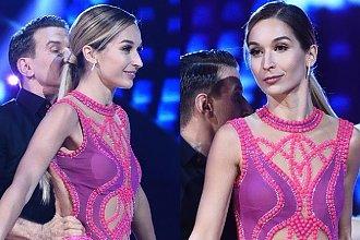 Taniec z Gwiazdami: Ola Kot miała tak krótką sukienkę, że aż pokazała POŚLADKI! Wpadka?