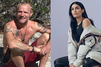 Flea z Red Hot Chili Peppers wziął ślub z 18 lat młodszą partnerką! Jak wam się podoba suknia ślubna panny młodej?