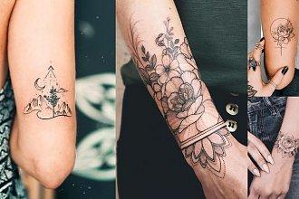 Tatuaże dla kobiet - 25 wzorów, które robią wrażenie!